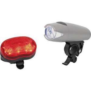 Compact 5 LED Front and Rear Bike Lights, £3.99 R&C @ Argos (Batteries Included In Price)
