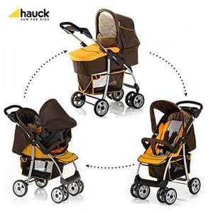 Hauck shopper trio travel system pram RRP £239.99 now £149.95 plus 10% off @ Kiddisave
