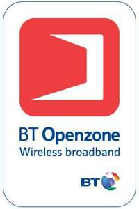 90 minutes free BT WIFI Text  freewifi and your email to  81192 (Cost of a text)