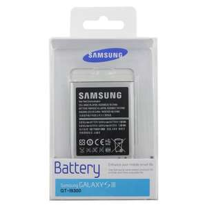 Genuine Samsung Galaxy S3 Battery sold by Amazon £8.69 delivered