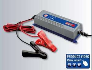 Car Battery Charger £13.99 @ Lidl from 17th January