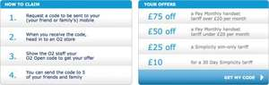 O2 £75 discount for pay monthly - NHS employees