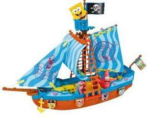 SpongeBob SquarePants Pirate Ship £12.99 R&C at Argos