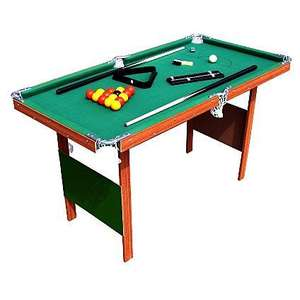4ft Pool Table for £30.00 @ ASDA Direct