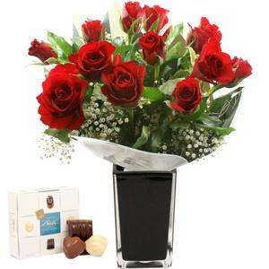 Roses and chocolate for valentines day£15.80 delivered with code CSD3945TEN   (+quidco) @ iFlorist