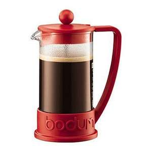 Bodum Red 'Brazil' three cup coffee maker £3.60 @ debenhams