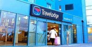 Travelodge Pay by Credit Card (via paypal) and avoid the £2 fee