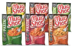 Pasta Mug Shots Buy 2 Get 2 Free £1.60 For 4 @ Co-Op
