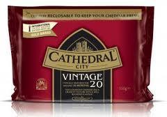 Cathedral City Vintage 20 cheddar 350g £2 Heron Foods