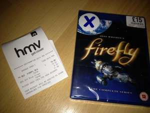 Firefly - The Complete Series (Blu-ray) £11.25 @ HMV Instore
