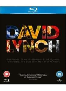 David Lynch boxed set - Blu Ray - £16.00 @ Sainsburys, Cheaper than the DVD set!