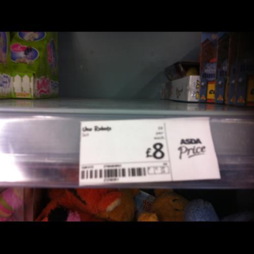 UNO roboto - £8 instore @ ASDA