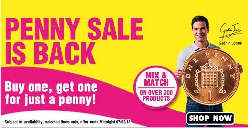 Holland & Barrett penny sale!