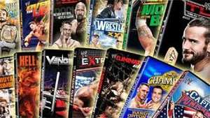 wwe blue ray dvd sale from £6.99 @ Silvervision