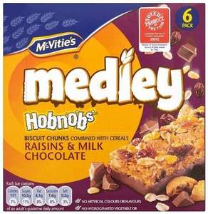 Mcvities Medley Raisins & Milk Chocolate Digestive Biscuits 6 X 30 g (Pack of 3) @ Amazon