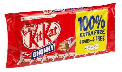8 X KitKat Chunky - £1 - Tesco instore