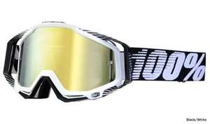100% Racecraft MX/Open/Full face/Downhill Goggles - Mirror £29.99 @ CRC