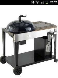 bondi ketle charcoal bbq at b&q