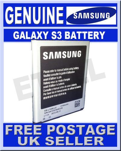 Genuine samsung galaxy s3 official battrey £3.99 @ ebay/e_techuk