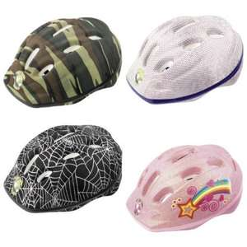 Canyon Planet Green Kids Cycling Helmet 52-56cm (Various Colours) £4.99 @ Rutland Cycling