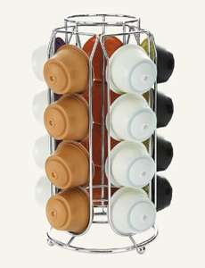 Coffee Pod Holder 3 options, Tassimo 48 discs, Dolce Gusto 20 pods, Nespresso 30 - £3.99 from Lidl