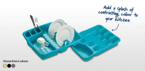 Dish Drainer/Cutlery Tray £1.49  each @ ALDI