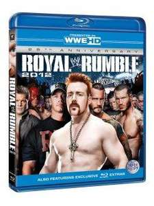 WWE Royal Rumble 2012 blu-ray £6.99 delivered @ Silvervision + others