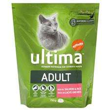Ultima Adult Dry Cat food 750g £2.00 @Wilkinsons