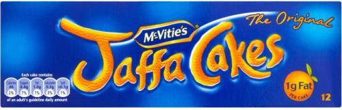 McVities Jaffa Cakes 12 Pack, scanning at 20p per pack instore at tesco