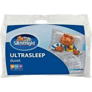 Silentnight Ultrasleep 10.5 Tog Duvet Kingsize Argos £16.99 Was £45.99