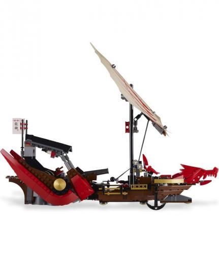 LEGO Ninjago - Destiny's Bounty for £35.00 del to store @ Asda