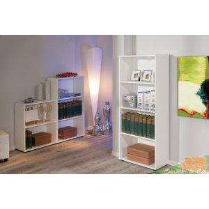 Bookshelf / Shelf Shelving unit, 3 shelves tall White £22.48 @ Amazon