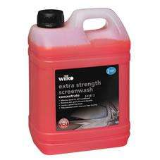 Wilko Screenwash Concentrate Extra Strength 2.5L @ wilkinsons for £3