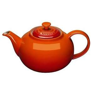 Le Creuset Volcanic classic stoneware tea pot Was £16.80 Now £5.04 @ Debenhams