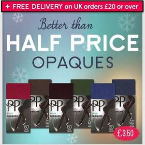 Pretty Polly Tights: Fashion & Opaques from £2.40. Free delivery