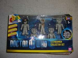 CHARACTER BUILDING DOCTOR WHO EXCLUSIVE CYBERMAN ARMY PACK MICRO-FIGURES @Argos ebay shop