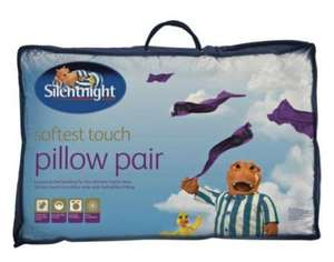 Silentnight Softest Touch Pair of Pillows £7.99 Less Than Half Price @ ARGOS