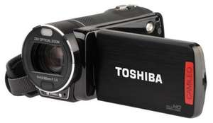 Toshiba X400 HD Camcorder Red or Black £99.98 + £4.79 P&P @ Toshiba
