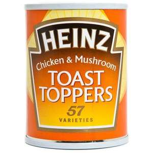 Heinz Toast Toppers - 2 for £1 - Various Flavours In Poundland