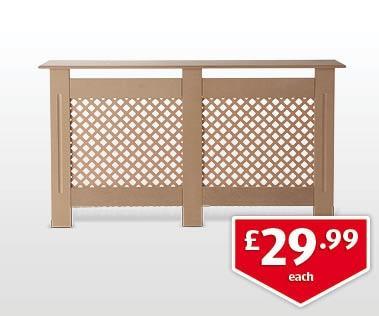 Radiator Cabinet (Large) £29.99 in Aldi this Sunday sales