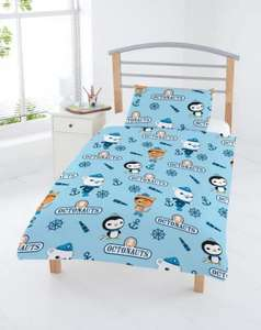 Octonauts Anchor Junior Duvet Set for £6.00 del to store @ Asda