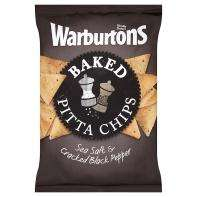 Warburtons Baked Pitta Chips (ALL FLAVOURS) £1.00 @ASDA