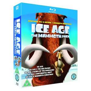 Ice Age: 1-4 & Mammoth Christmas - The Mammoth Collection [Blu-ray] @ Playtrade via Lightning Discs