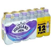 Highland Spring Still Spring Water (12x500ml) £2 @ Asda