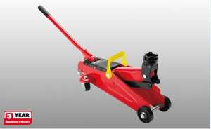 2 Tonne Hydraulic Trolley Jack @ Lidl £19.99 with 3 year warranty