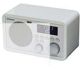 Polaroid DAB Radio - White £20 @ asda Direct