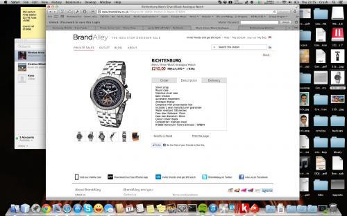RICHTENBURG 80%++ sale on watches (men/women) £210 @ Brand Alley