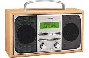 Bush Arden Wooden Dab Radio Silver £22.94 was £79.99 @ argos eBay outlet