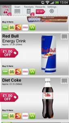 Diet Coke only 15p using Shopitize app at ASDA, Morrisons, Sainsbury's, Tesco & Waitrose