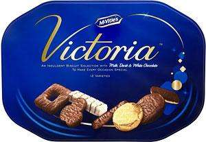 McVitie's Victoria 645g plus other biscuits now reduced to £2 @ Tesco